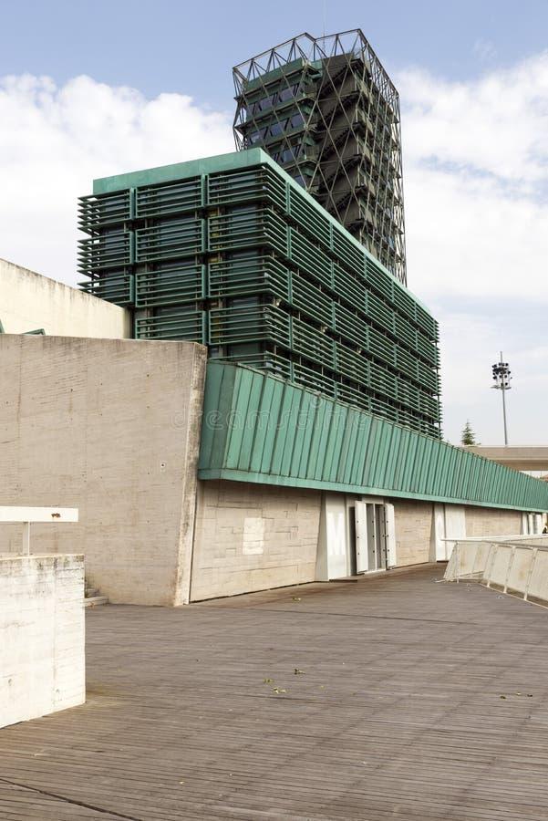 Museu de ciência de Valladolid fotos de stock