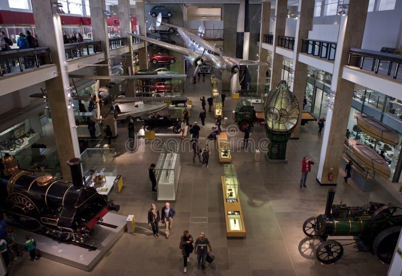 Museu de ciência em Londres fotos de stock royalty free