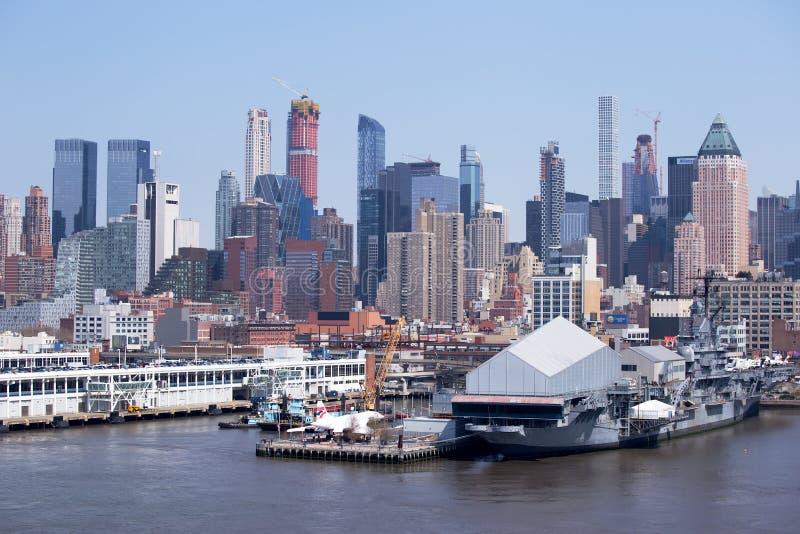 Museu de Concorde e de mar, de ar e de espaço, New York imagem de stock
