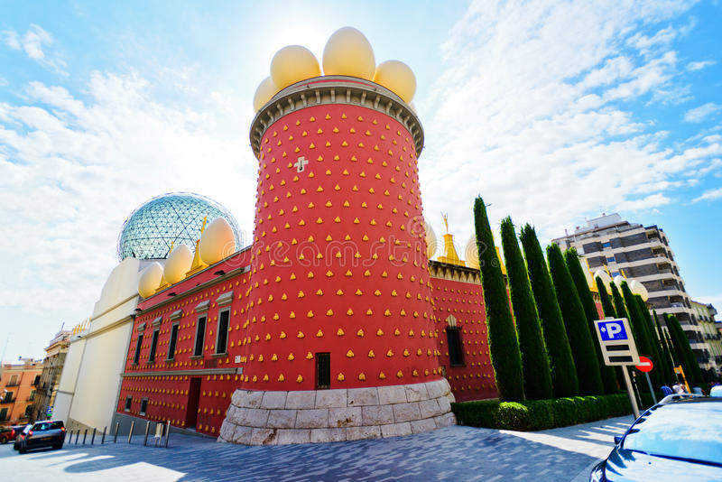 Museu de Dali foto de stock