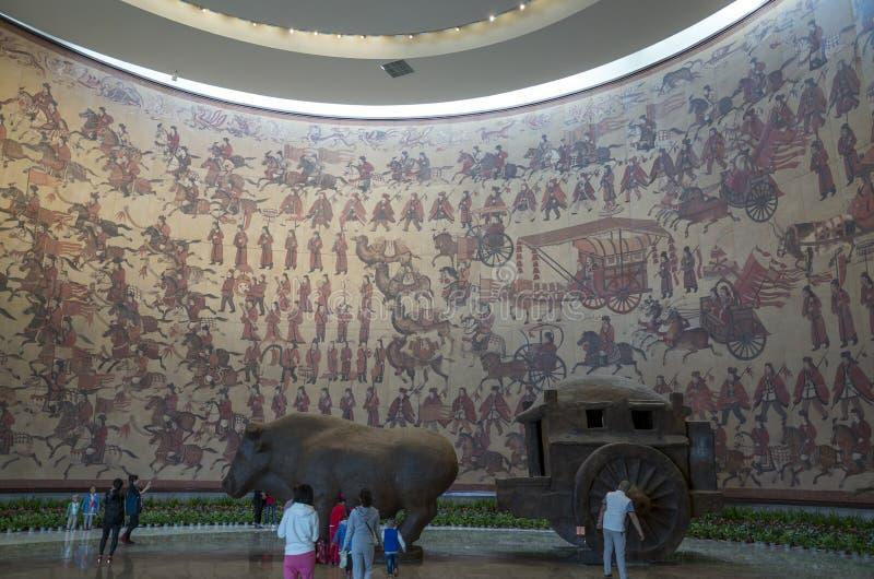 Museu de Datong fotografia de stock