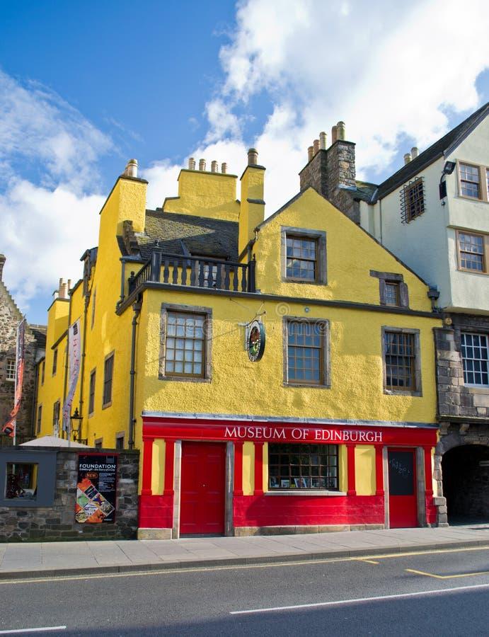 Museu de Edimburgo foto de stock
