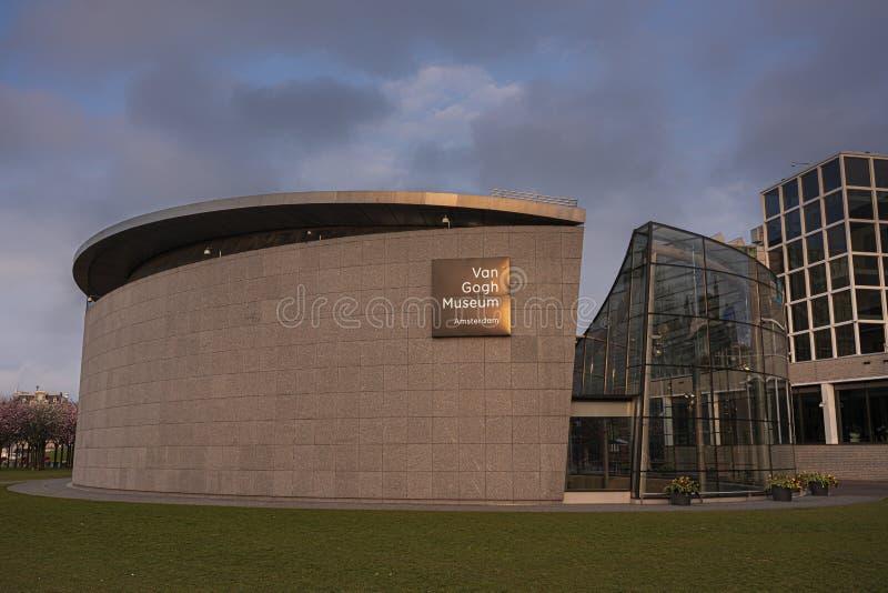 Museu de Een foto camionete het Vincent van Gogh fotografia de stock