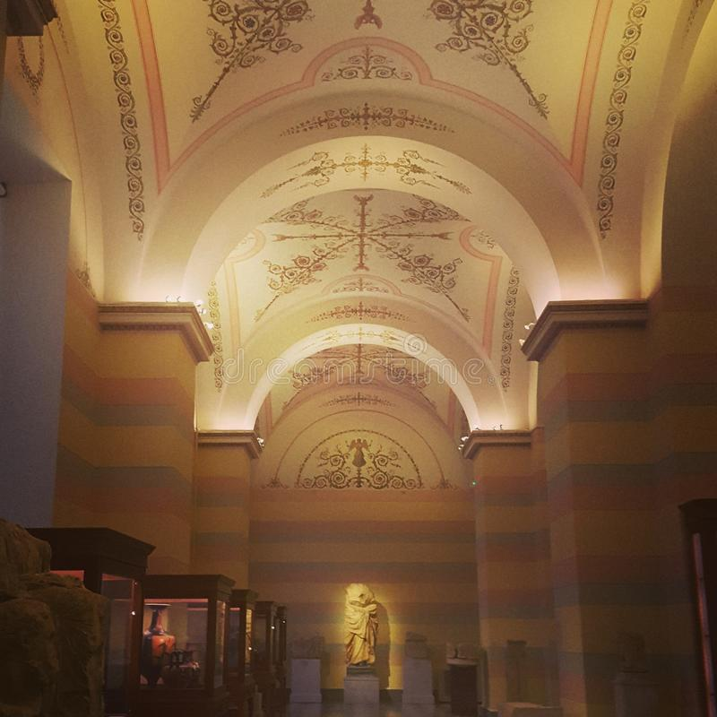 Museu de eremitério foto de stock royalty free