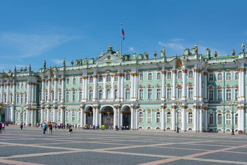 Museu de eremitério do palácio do inverno, St Petersburg, Rússia fotos de stock