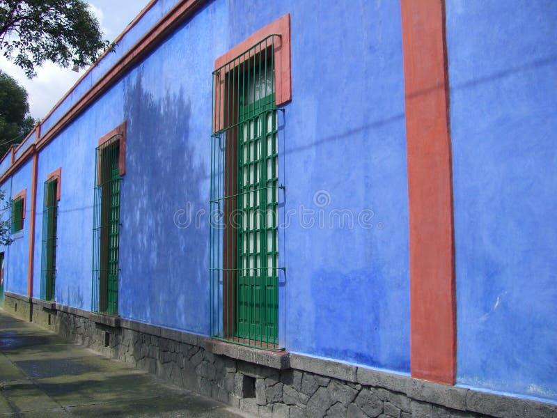 Museu de Frida Kahlo fotografia de stock royalty free