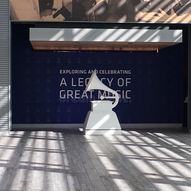 Museu de Grammy imagem de stock