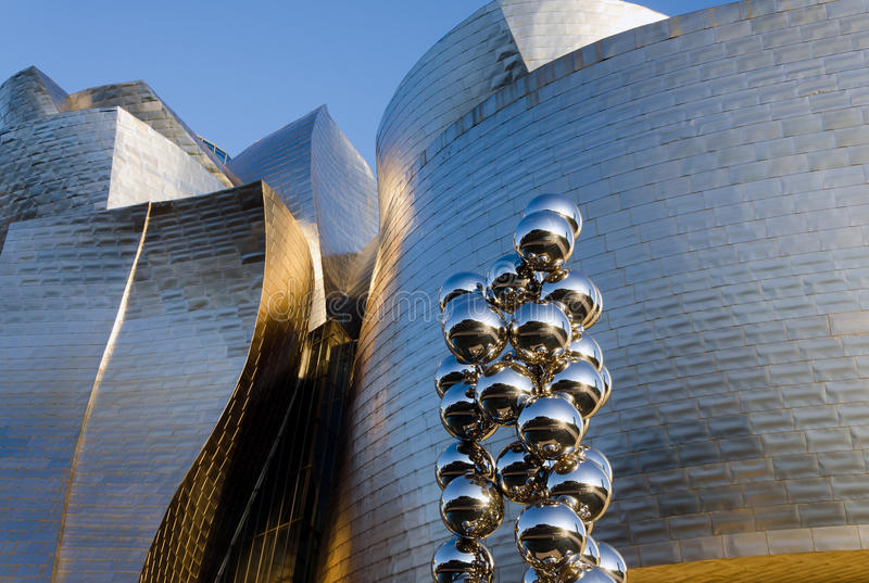 Museu De Guggenheim Fotografia Editorial