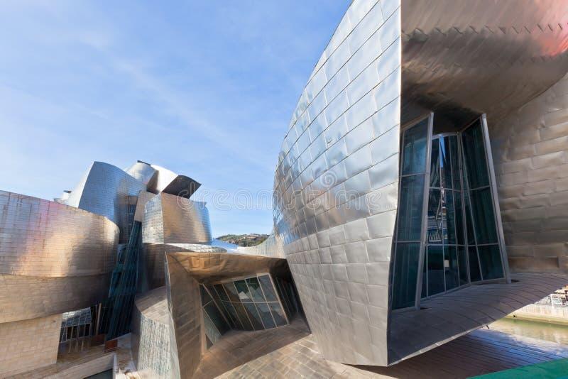Museu de Guggenheim Bilbao imagem de stock royalty free