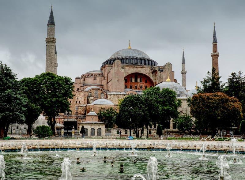 Museu de Hagia Sophia imagens de stock