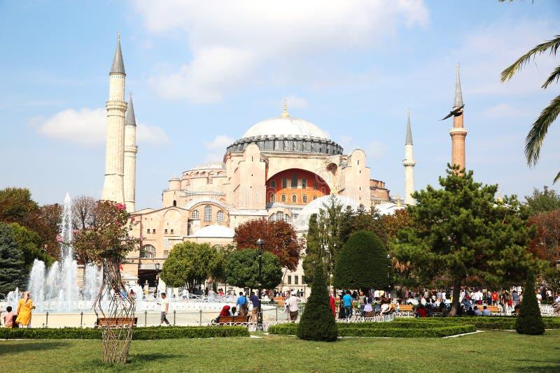 Museu de Hagia Sophia em Istambul foto de stock royalty free