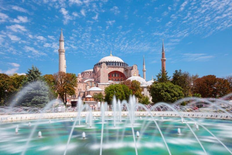Museu de Hagia Sophia, Istambul, Turquia imagens de stock