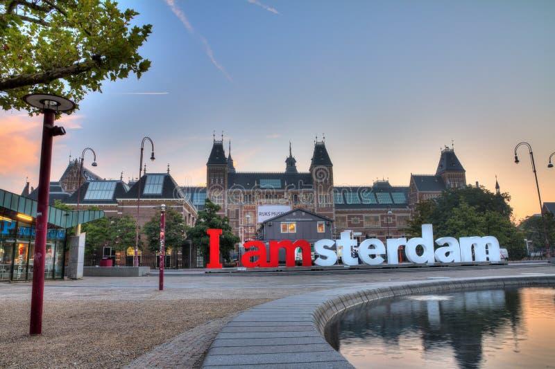 Museu de IAMSTERDAM fotos de stock