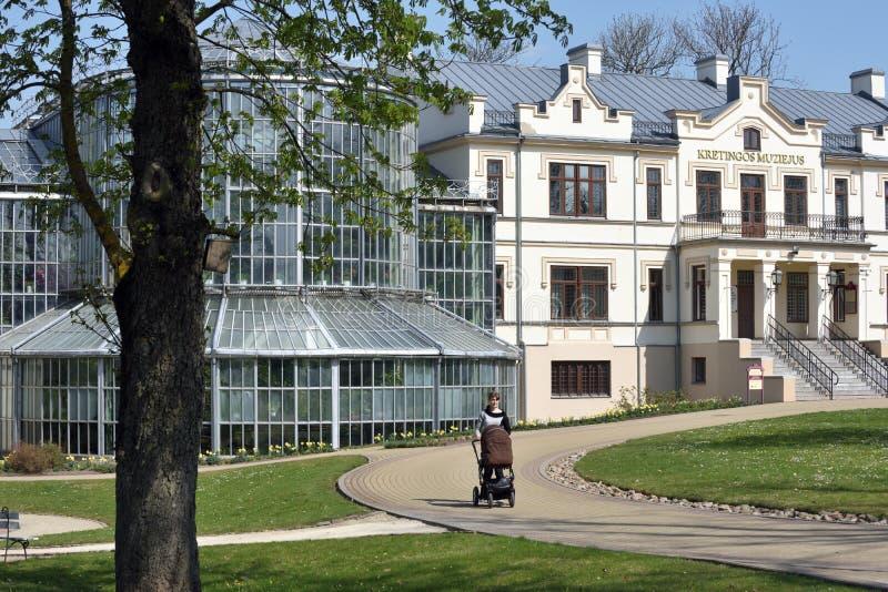 Museu de Kretinga, Litu?nia fotografia de stock
