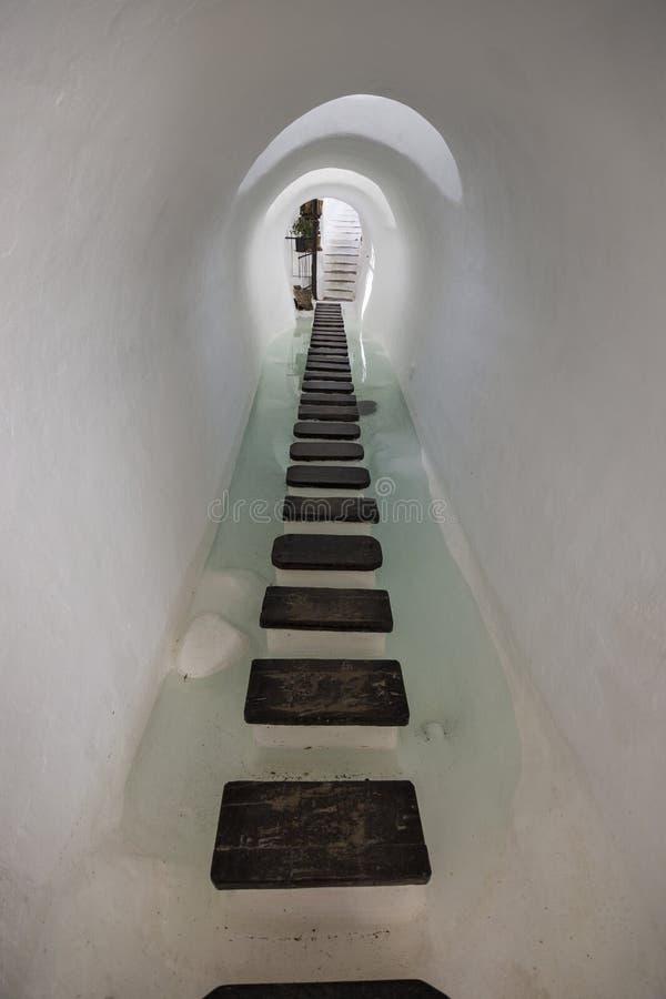 Museu de Lagomar, casa de Omar Sharif Nazaret Ilha de Lanzarote, Ilhas Can?rias, Espanha foto de stock royalty free