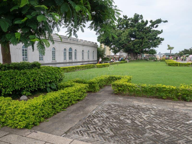 Museu de Macau na Fortaleza do Monte, Macau foto de stock royalty free