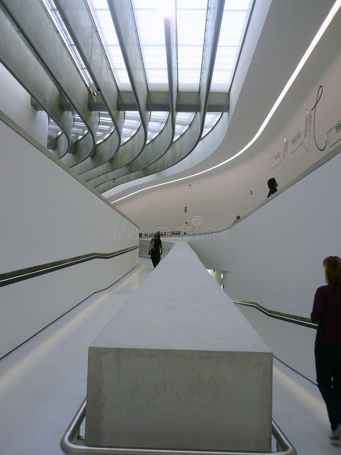 Museu de MAXXI, Roma, Itália fotografia de stock