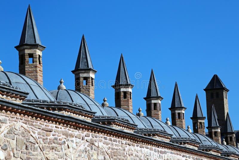 Museu de Mevlana em Konya Turquia imagem de stock royalty free