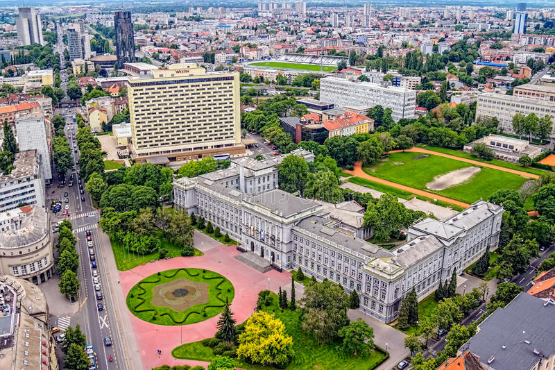 Museu de Mimara, Zagreb fotos de stock