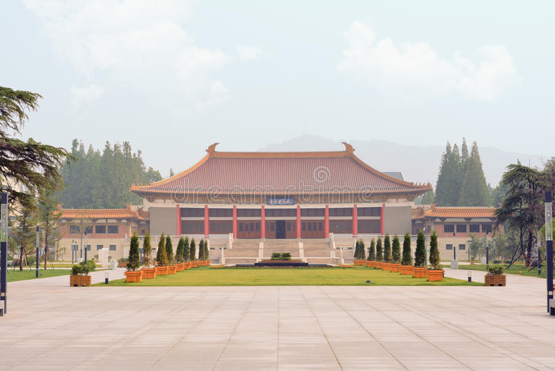 Museu de Nan Jing fotos de stock royalty free