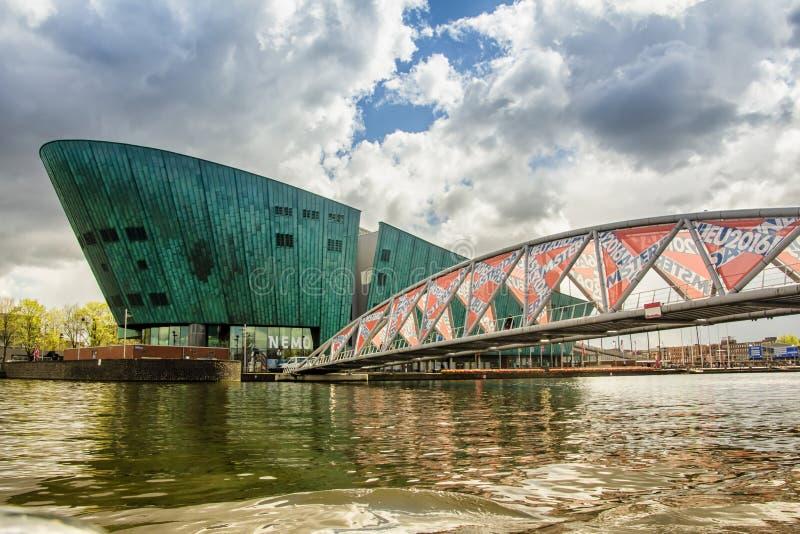 Museu de Nemo, Amsterdão imagem de stock royalty free