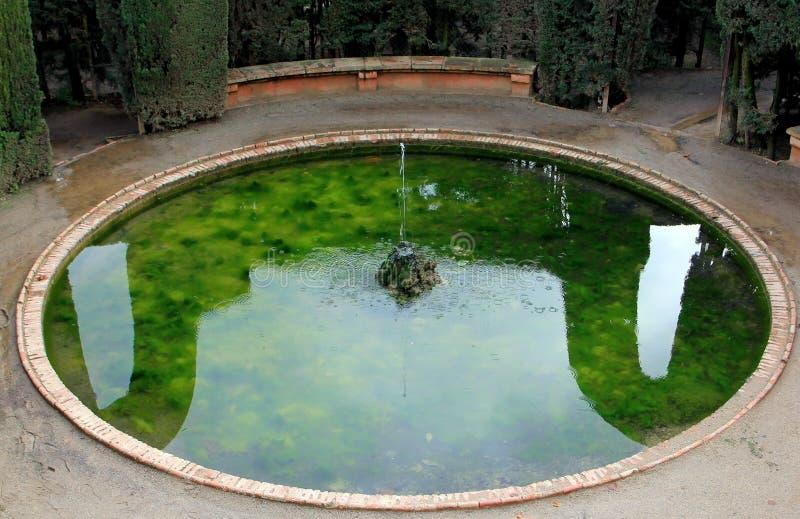 Museu de Parc del laberint - de Jardà photo stock