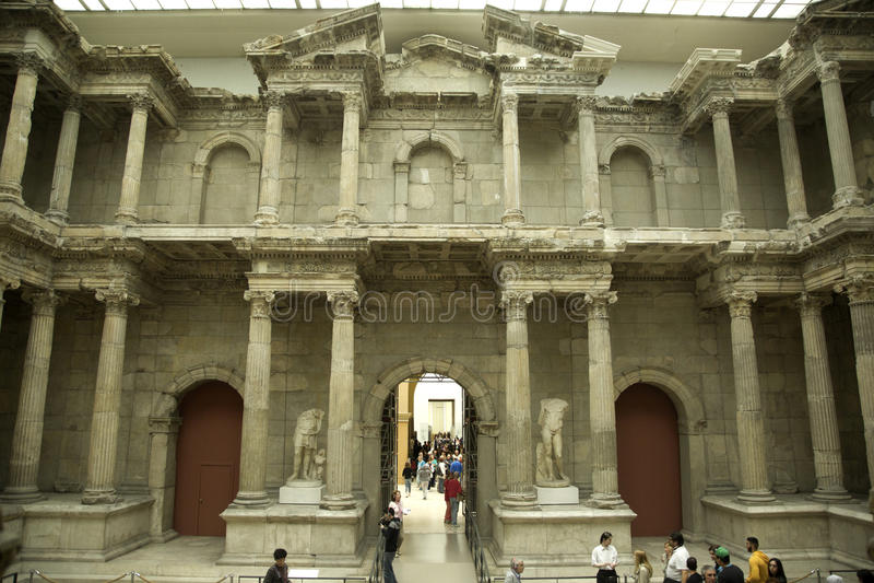 Museu de Pergamon fotografia de stock royalty free