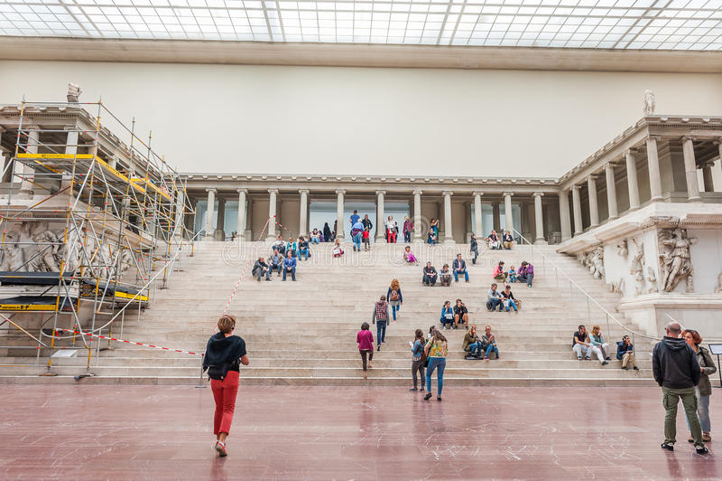 Museu de Pergamon em Berlim foto de stock