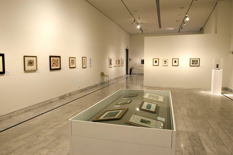 Museu de Picasso de Barcelona imagem de stock