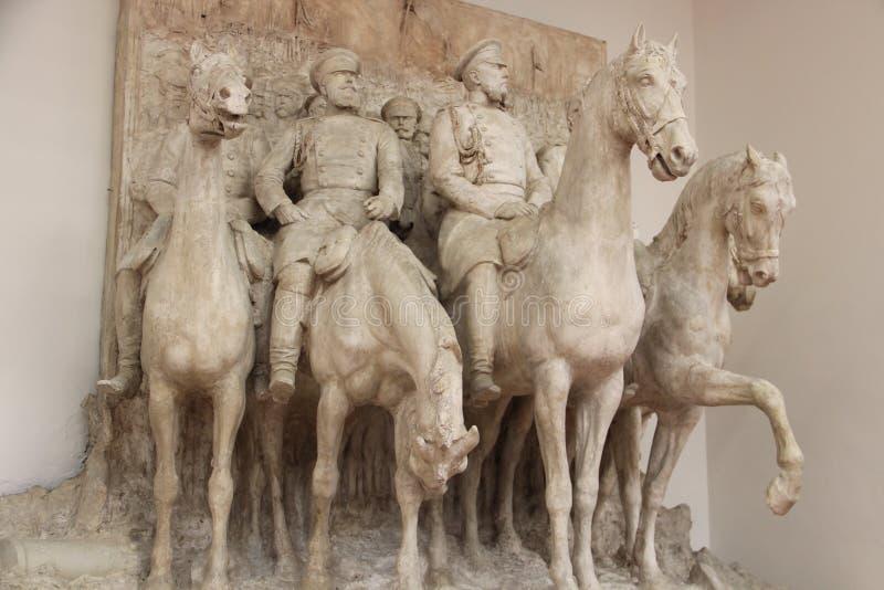 Museu de Pietro Canonica, casa de campo Borghese, Roma fotos de stock royalty free