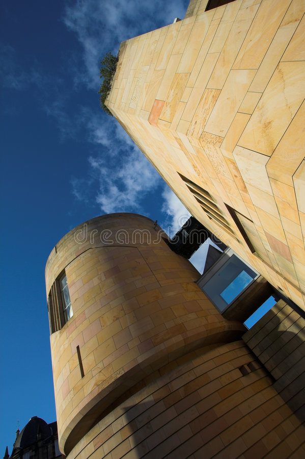 Museu de Scotland, Edimburgo imagem de stock royalty free