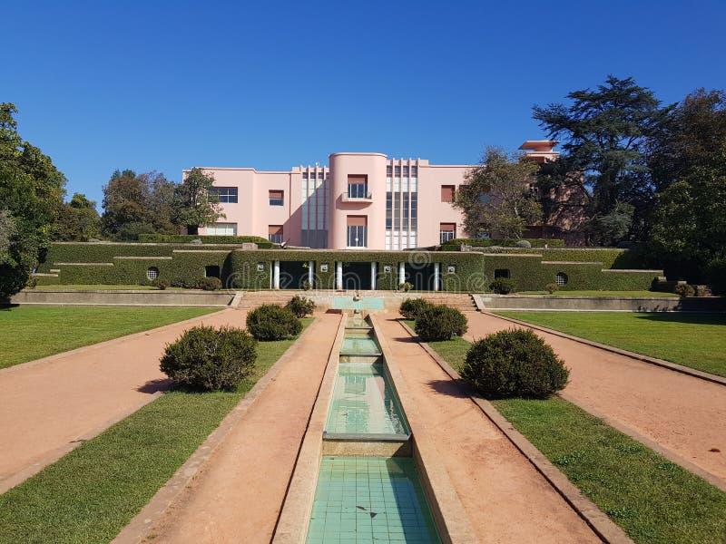 Museu de Serralves - Порту, Португалия стоковое фото