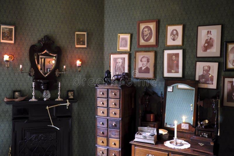 Museu de Sherlock Holmes imagens de stock