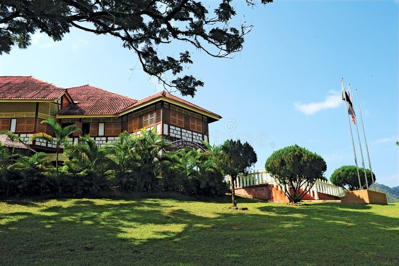 MUSEU DE SUNGAI LEMBING foto de stock royalty free
