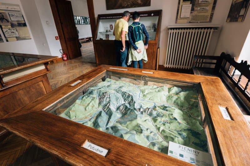 Museu de Tatra em Zakopane, Polônia imagem de stock
