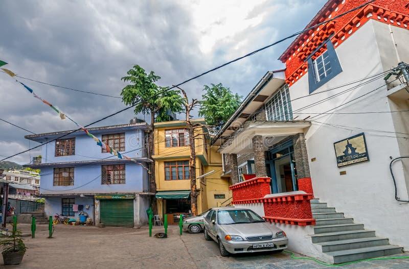 Museu de Tibet fotos de stock