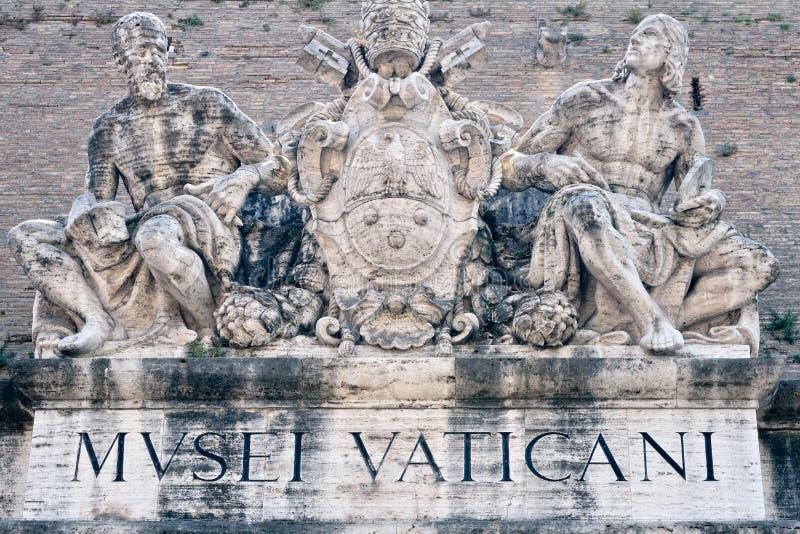 Museu de Vatican fotografia de stock royalty free