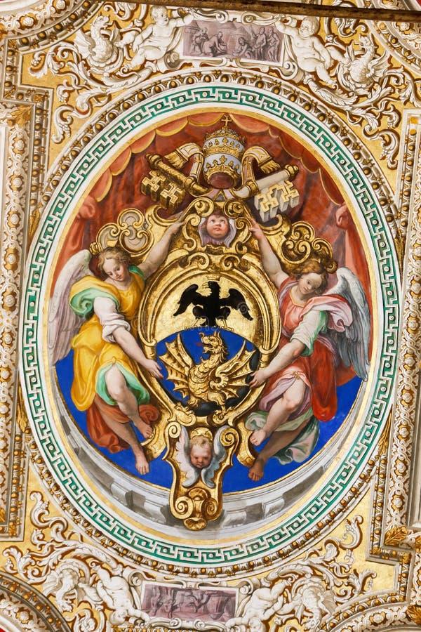 Museu de Vatican fotos de stock royalty free