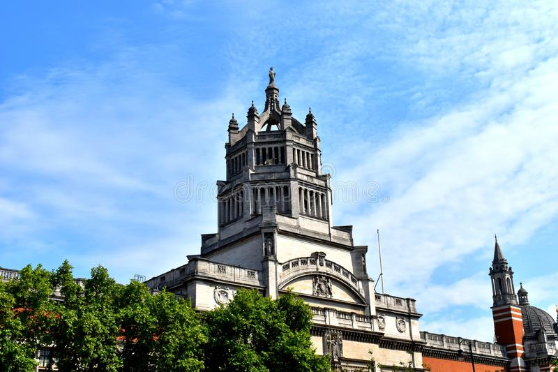 Museu de Victoria e de Albert, Londres fotos de stock