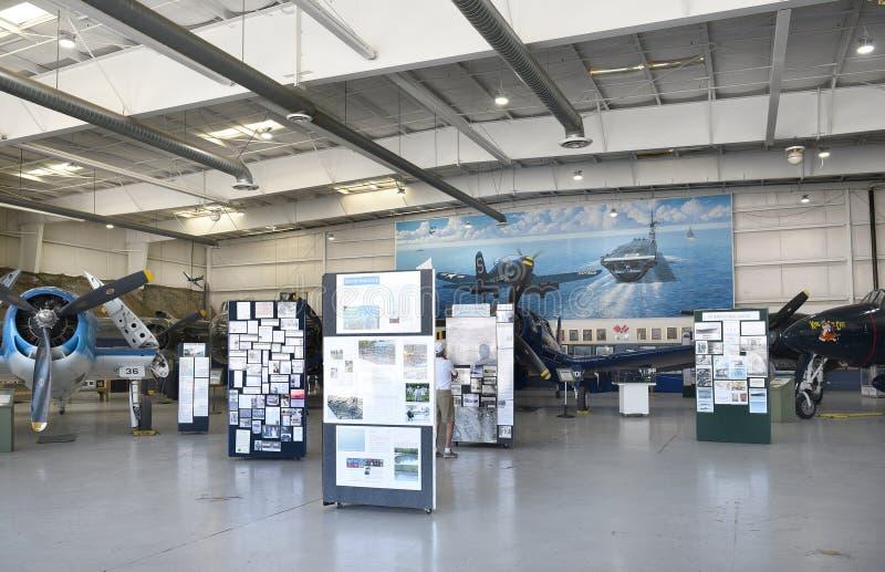 Museu do ar do Palm Springs fotografia de stock
