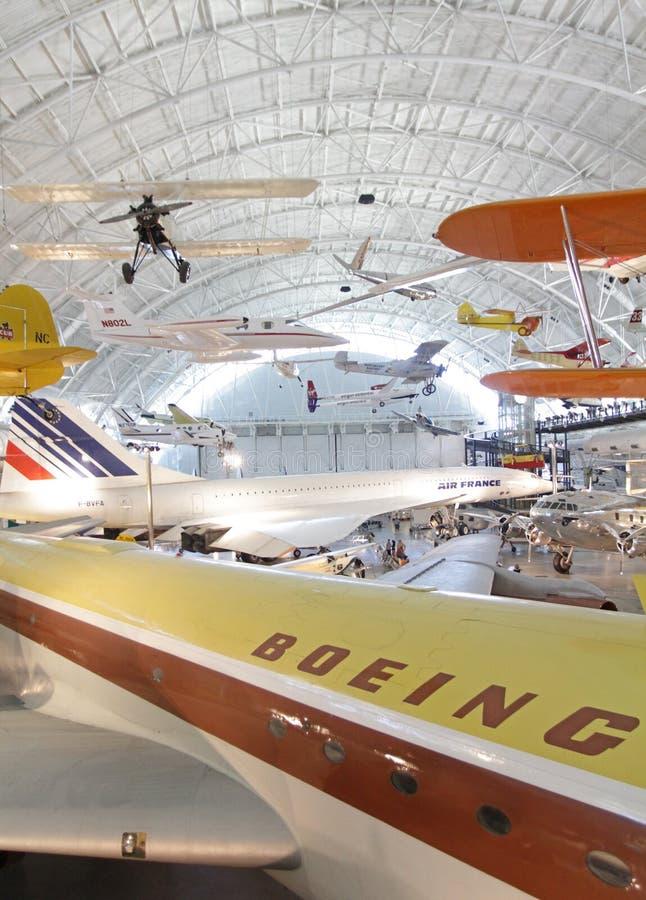 Museu Do Ar E De Espaço Foto de Stock Editorial