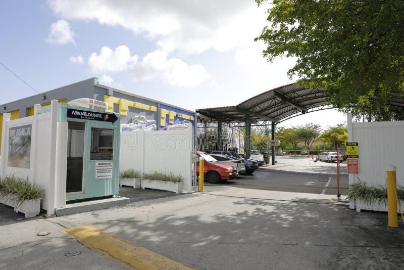 Museu do automóvel de Miami foto de stock