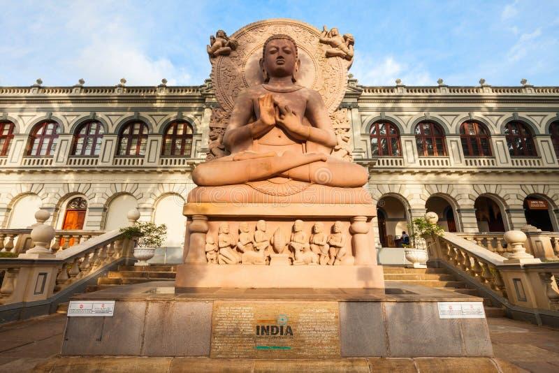 Museu do budismo do mundo imagens de stock