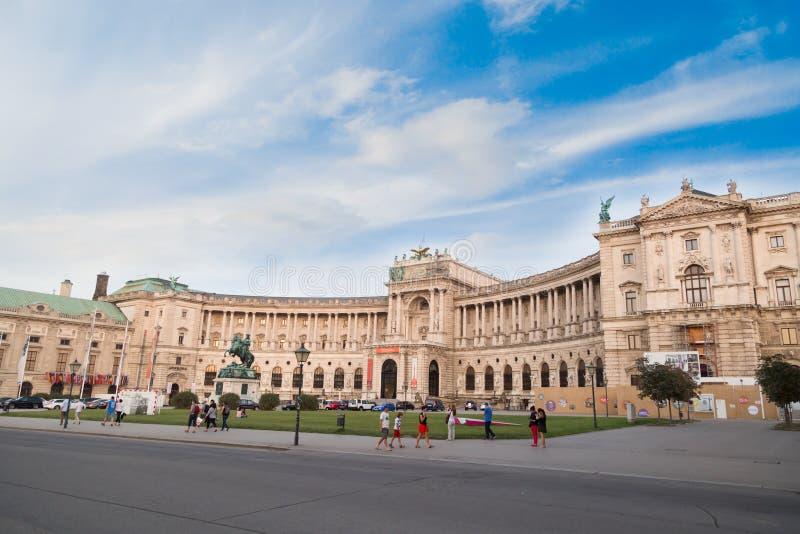 Museu do Burg de Neue em Viena imagens de stock royalty free