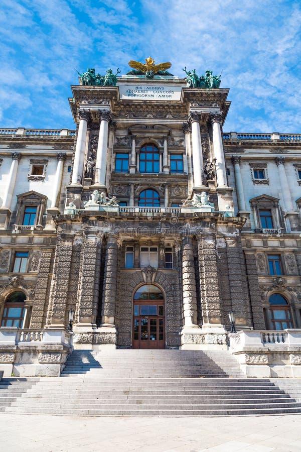 Museu do Burg de Neue em Viena foto de stock royalty free