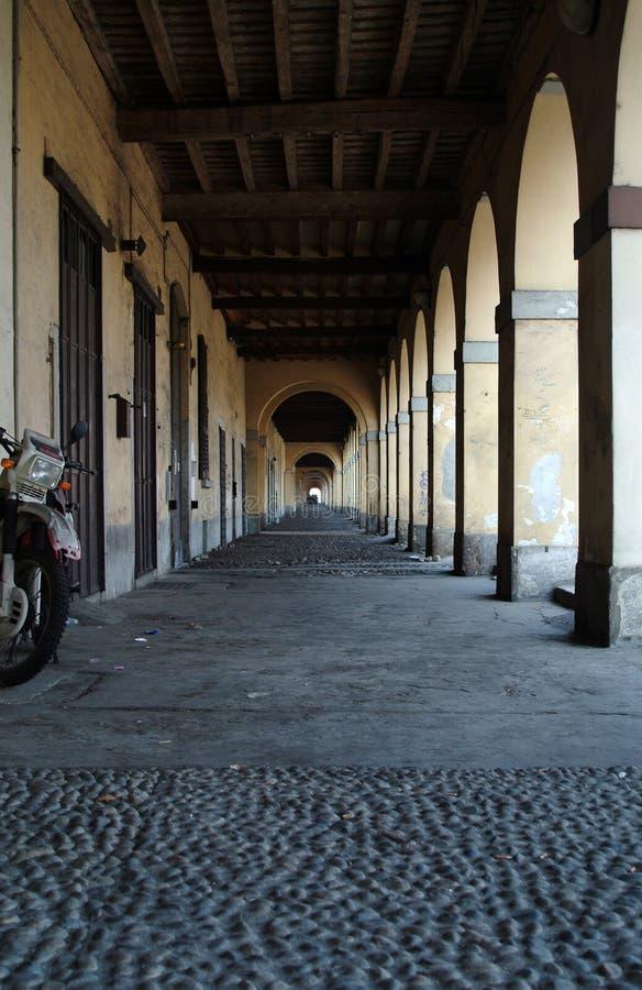 Museu do Certosa de Pavia imagens de stock royalty free
