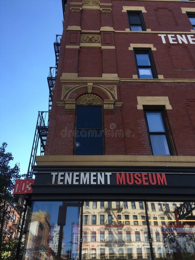 Museu do cortiço, New York City fotografia de stock royalty free