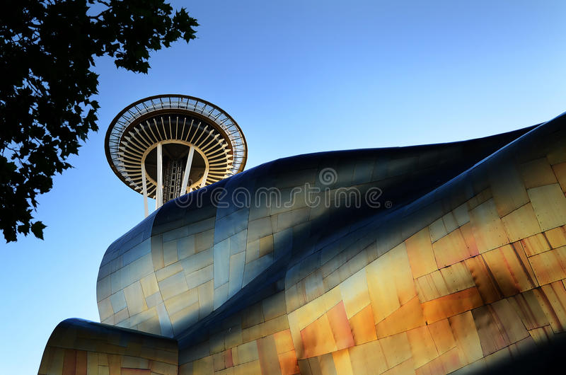Museu do Emp, Seattle imagem de stock royalty free