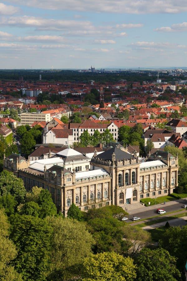 Museu do estado de Baixa Saxónia em Hanover imagens de stock