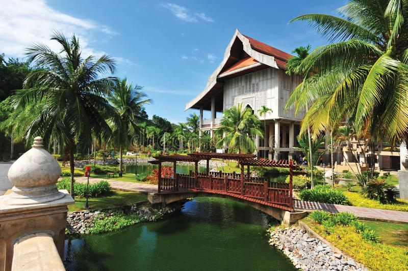 Museu do estado de Terengganu fotografia de stock royalty free